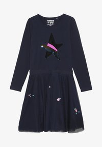 Staccato - Jersey dress - dark marine - 3