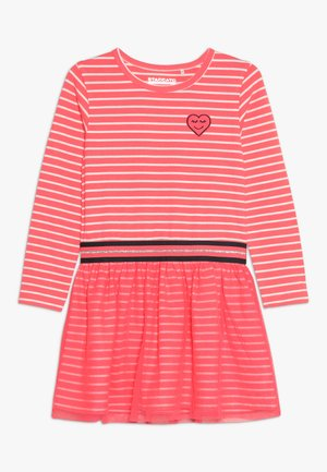 KID - Robe en jersey - neon red