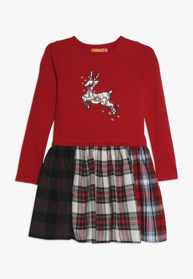 Staccato - KID - Jerseykleid - bright red