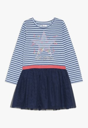 KID - Jersey dress - sky blue