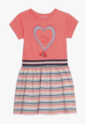 KID - Jerseyklänning - neon peach