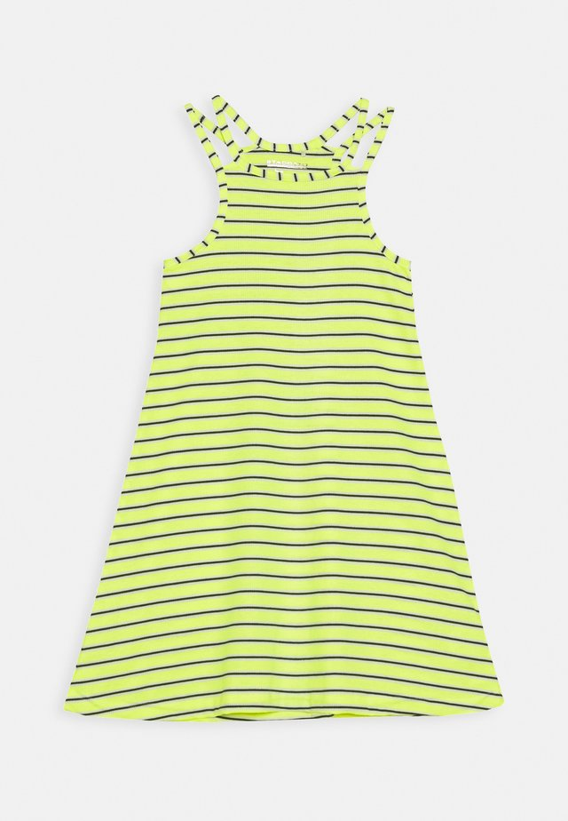 TEENAGER - Jersey dress - neon sun
