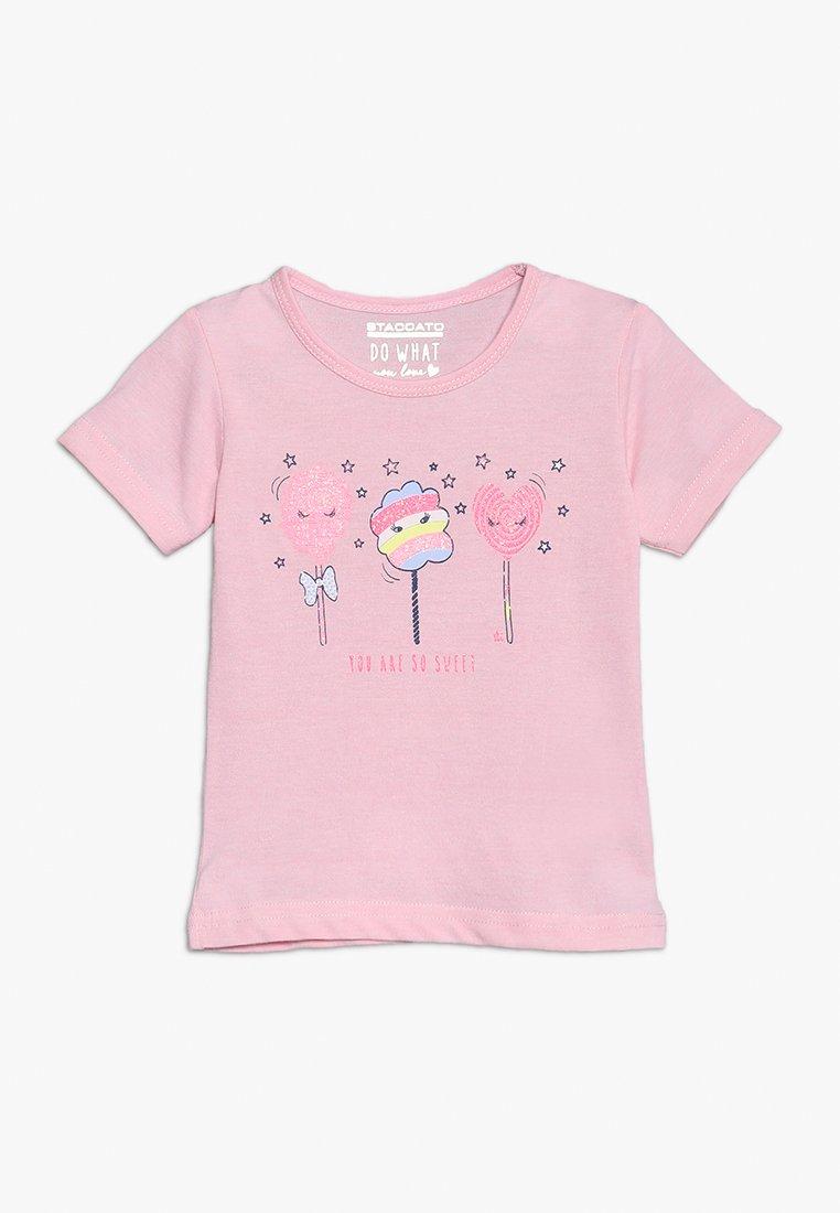 Staccato - T-shirt imprimé - powder rose melange