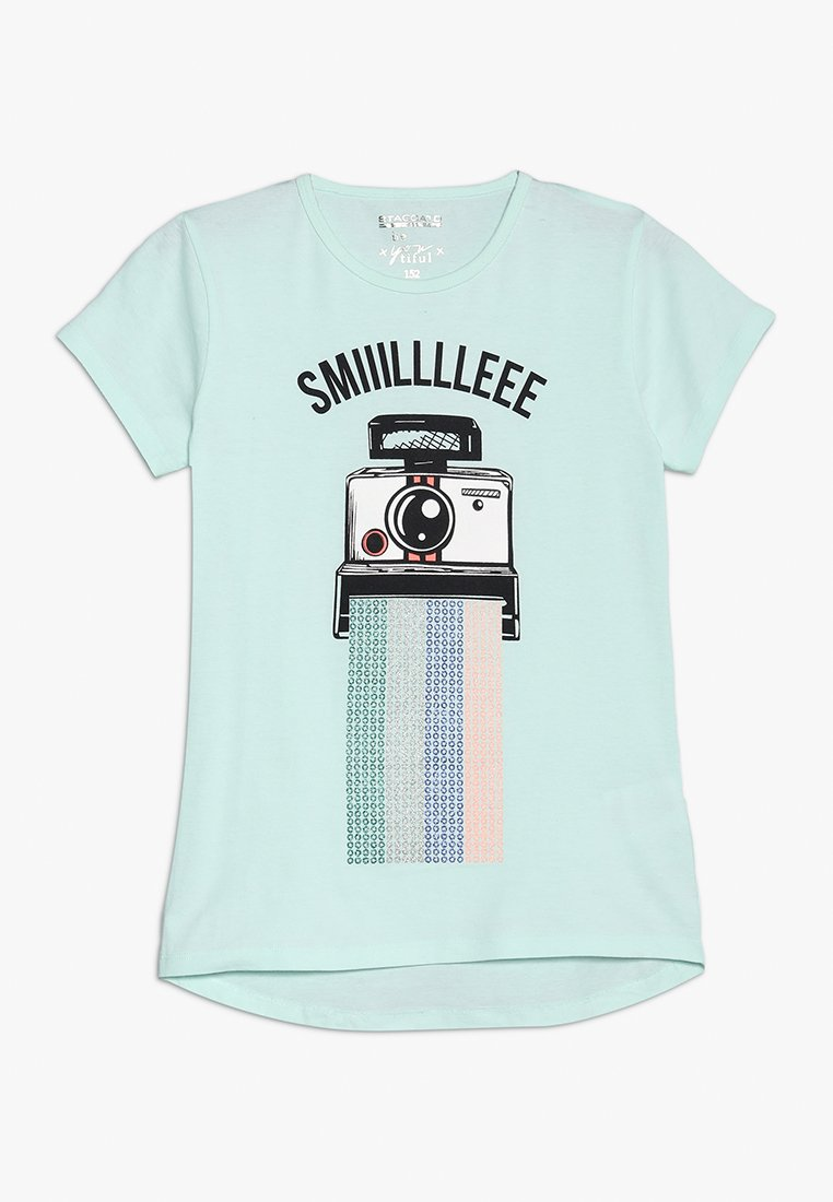 Staccato - TEENS - Print T-shirt - pastel green