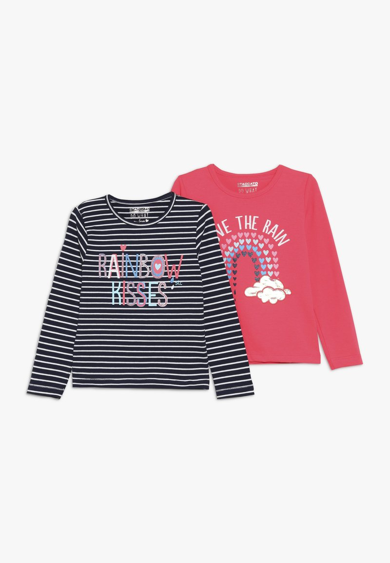 Staccato - KID 2 PACK  - Langærmede T-shirts - neon red
