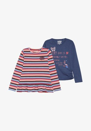 KID 2 PACK - Långärmad tröja - neon red