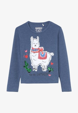 KID - Camiseta de manga larga - marine melange