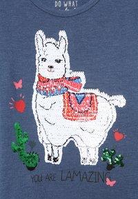 Staccato - KID - T-shirt à manches longues - marine melange - 3