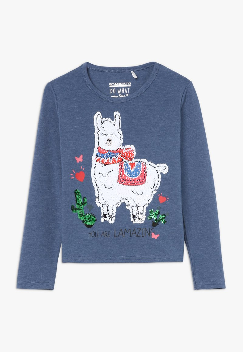 Staccato - KID - T-shirt à manches longues - marine melange