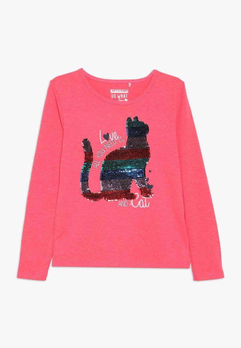 Staccato - KID - Långärmad tröja - neon red