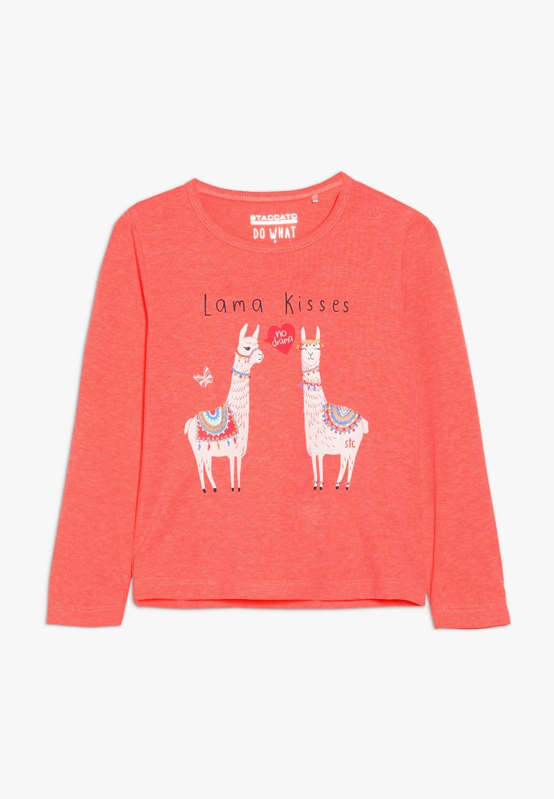 Staccato - KID - Topper langermet - neon coral