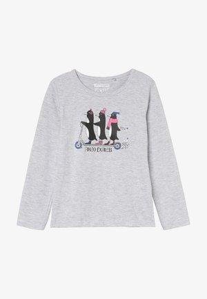 T-shirt à manches longues - silver melange