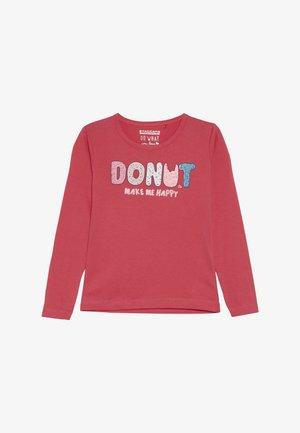 KID - Camiseta de manga larga - shugar red