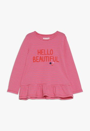 STREIFEN TUNIKA KID - Long sleeved top - melon