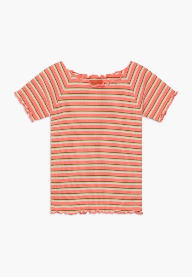 TEENAGER - Camiseta estampada - neon peach