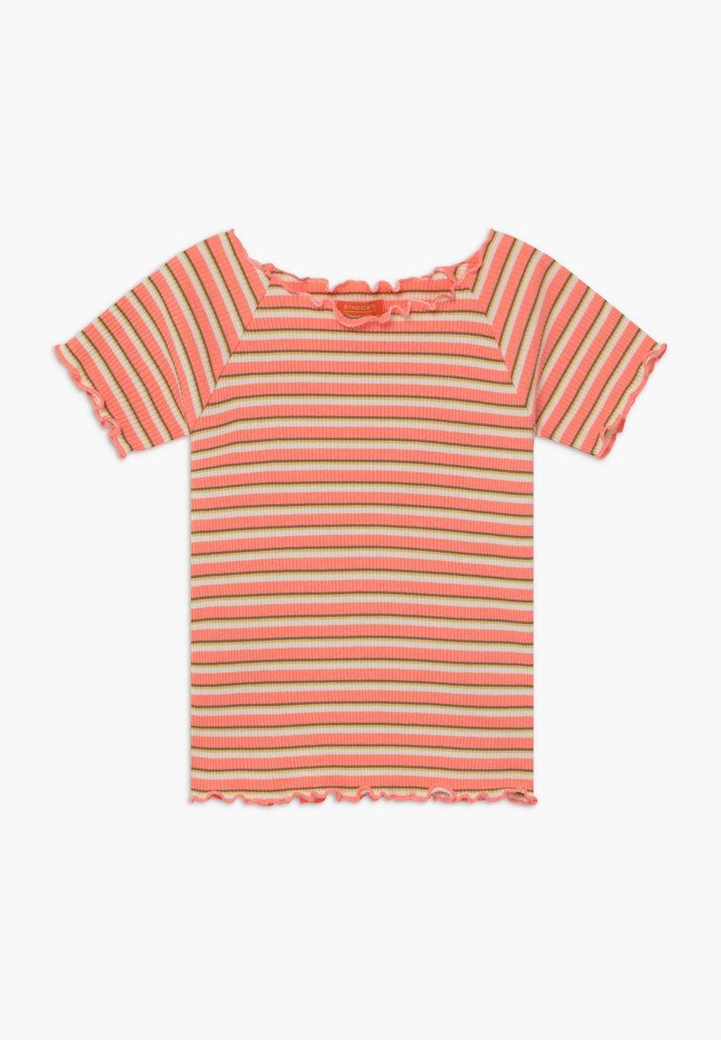 Staccato - TEENAGER - Print T-shirt - neon peach