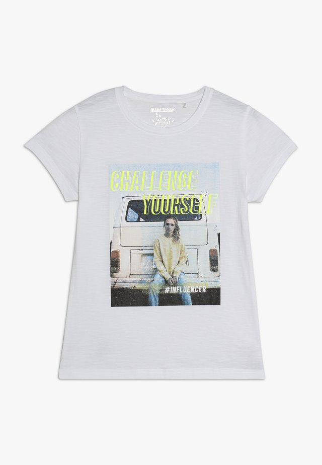 TEENAGER - T-shirts print - soft white