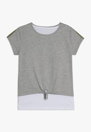 2IN1 TEENAGER - T-shirt imprimé - mid grey melange