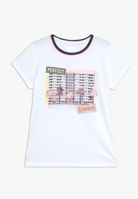 Staccato - TEENAGER - T-shirt z nadrukiem - soft white - 0