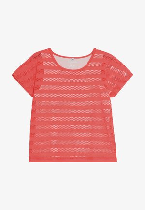 TEENAGER - Print T-shirt - bright coral