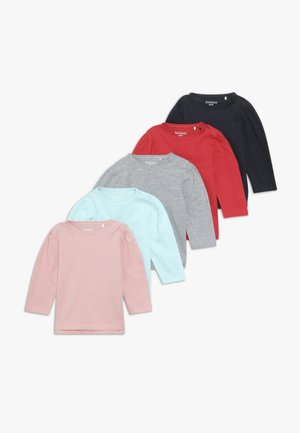 5 PACK - Long sleeved top - multi coloured