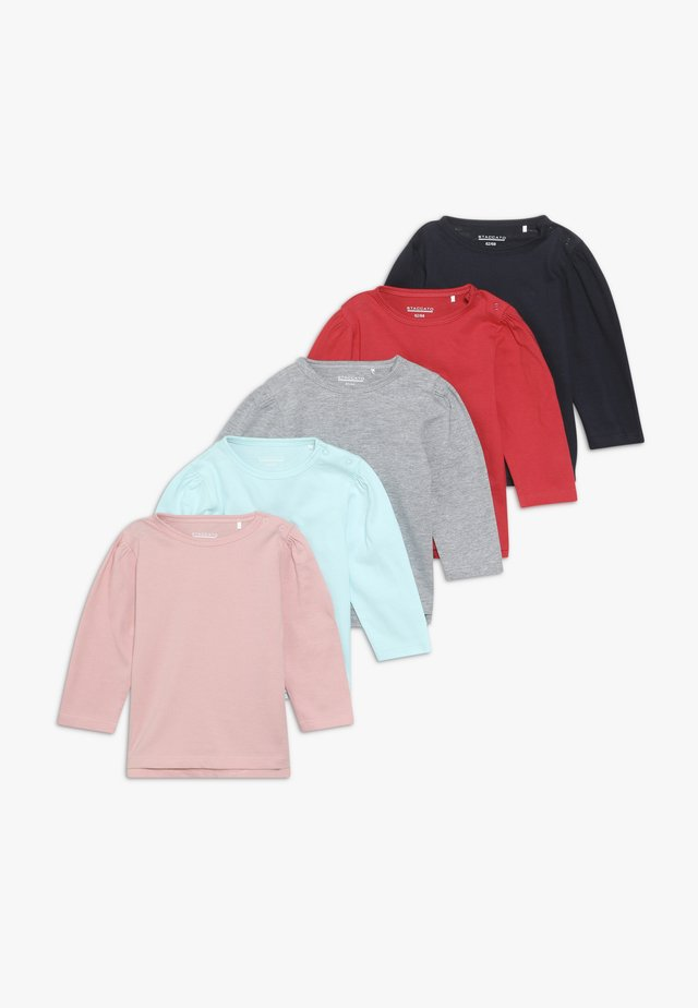 5 PACK - Longsleeve - multi coloured