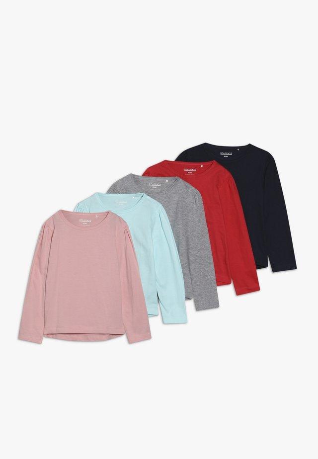 5 PACK - Maglietta a manica lunga - bunt