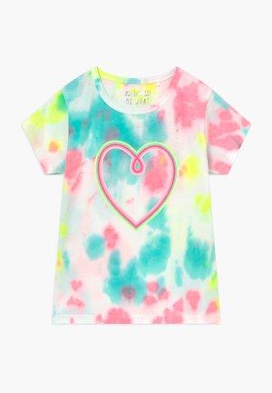 BATIK KID - T-shirt print - neon rose