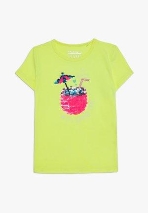KID - Print T-shirt - neon sun