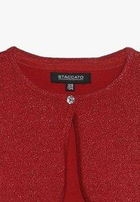 Staccato - TODDLER TEENS KID TEENAGER - Kardigan - red - 3