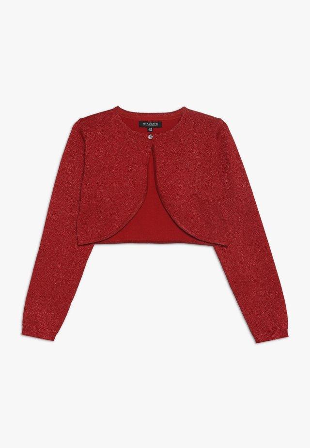 TODDLER TEENS KID TEENAGER - Cardigan - red
