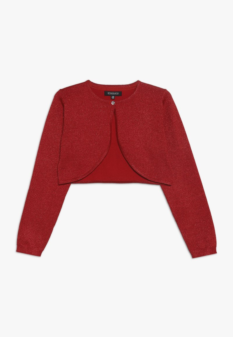 Staccato - TODDLER TEENS KID TEENAGER - Chaqueta de punto - red