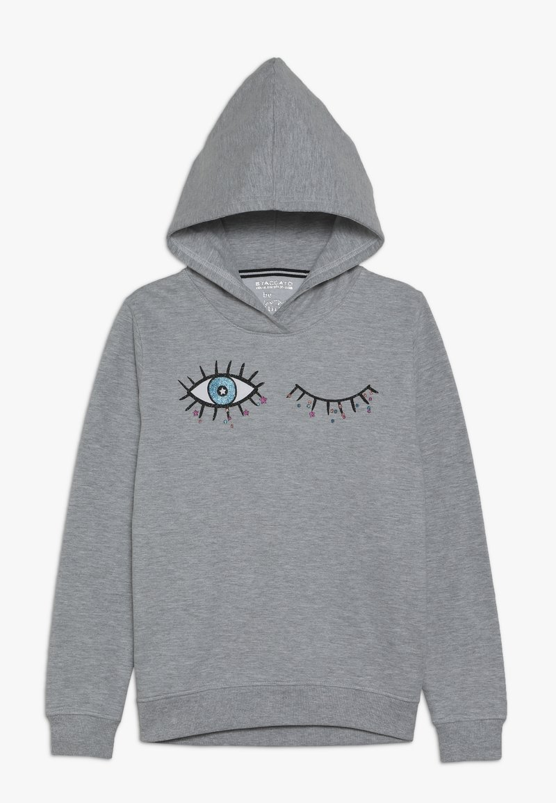 Staccato - GIRL JUMPER  - Kapuzenpullover - grey