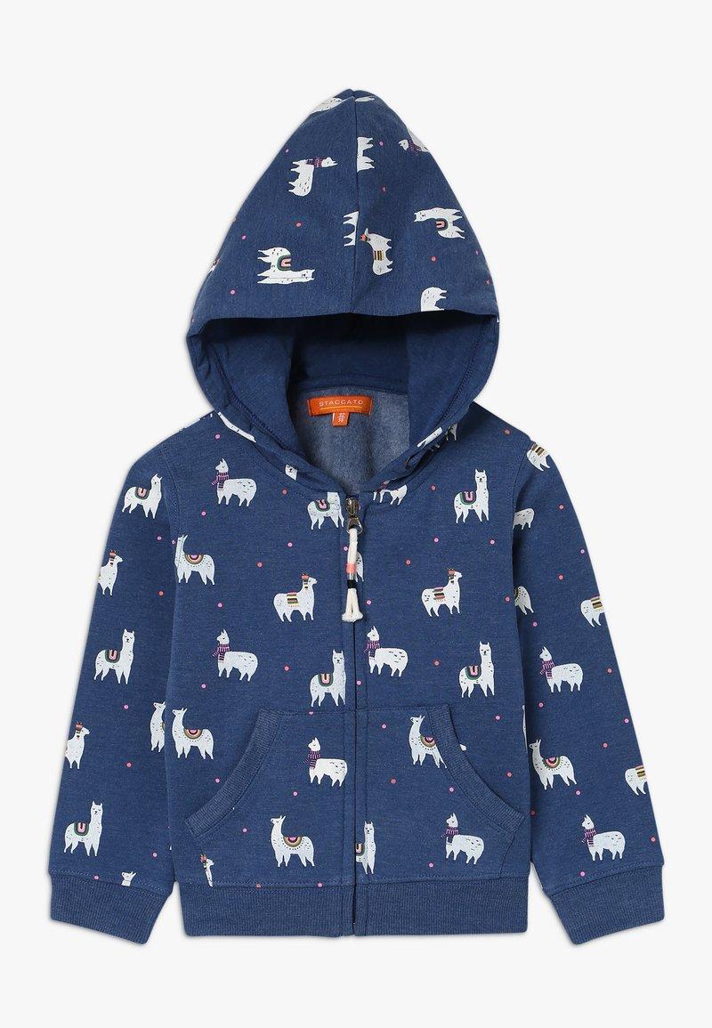 Staccato - KID - Zip-up hoodie - marine melange