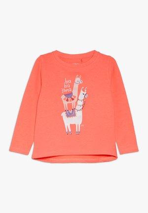 KID - Mikina - neon coral
