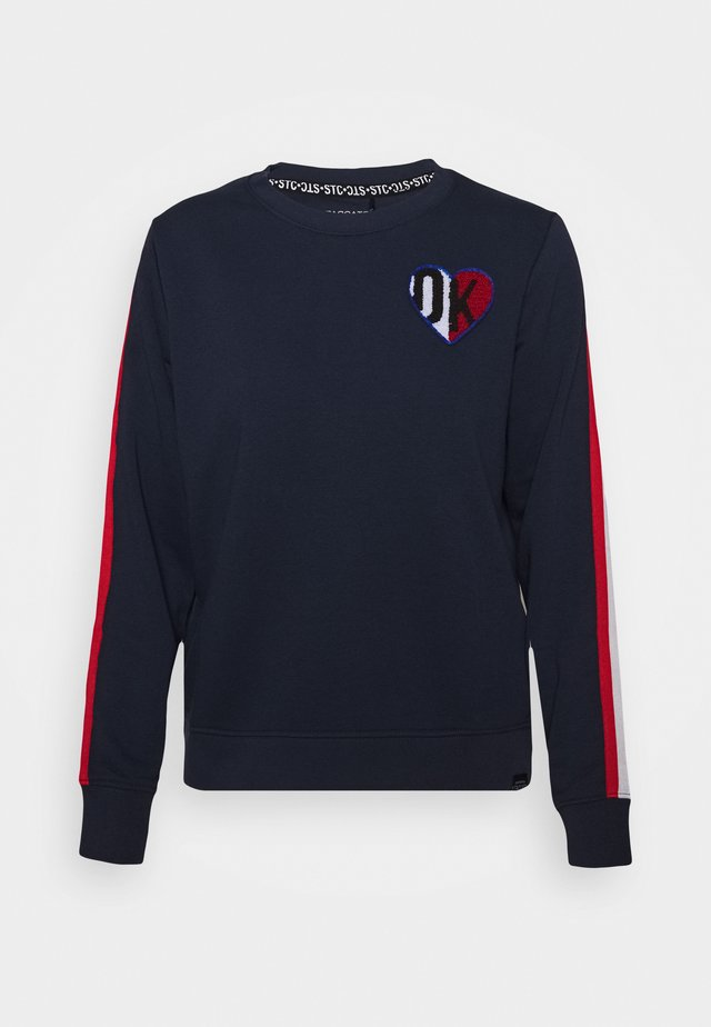 BOXY TEENAGER - Sweatshirt - marine