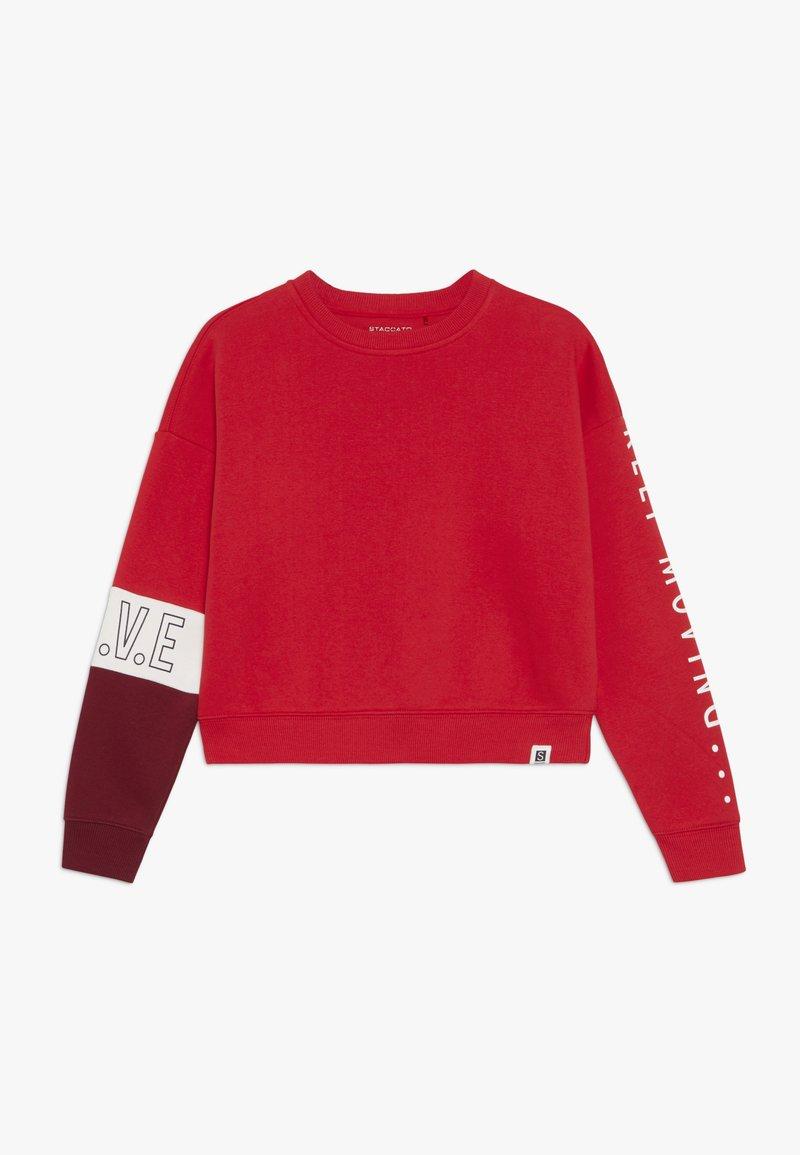 Staccato - CROPPED TEENAGER - Sweatshirt - lipstick