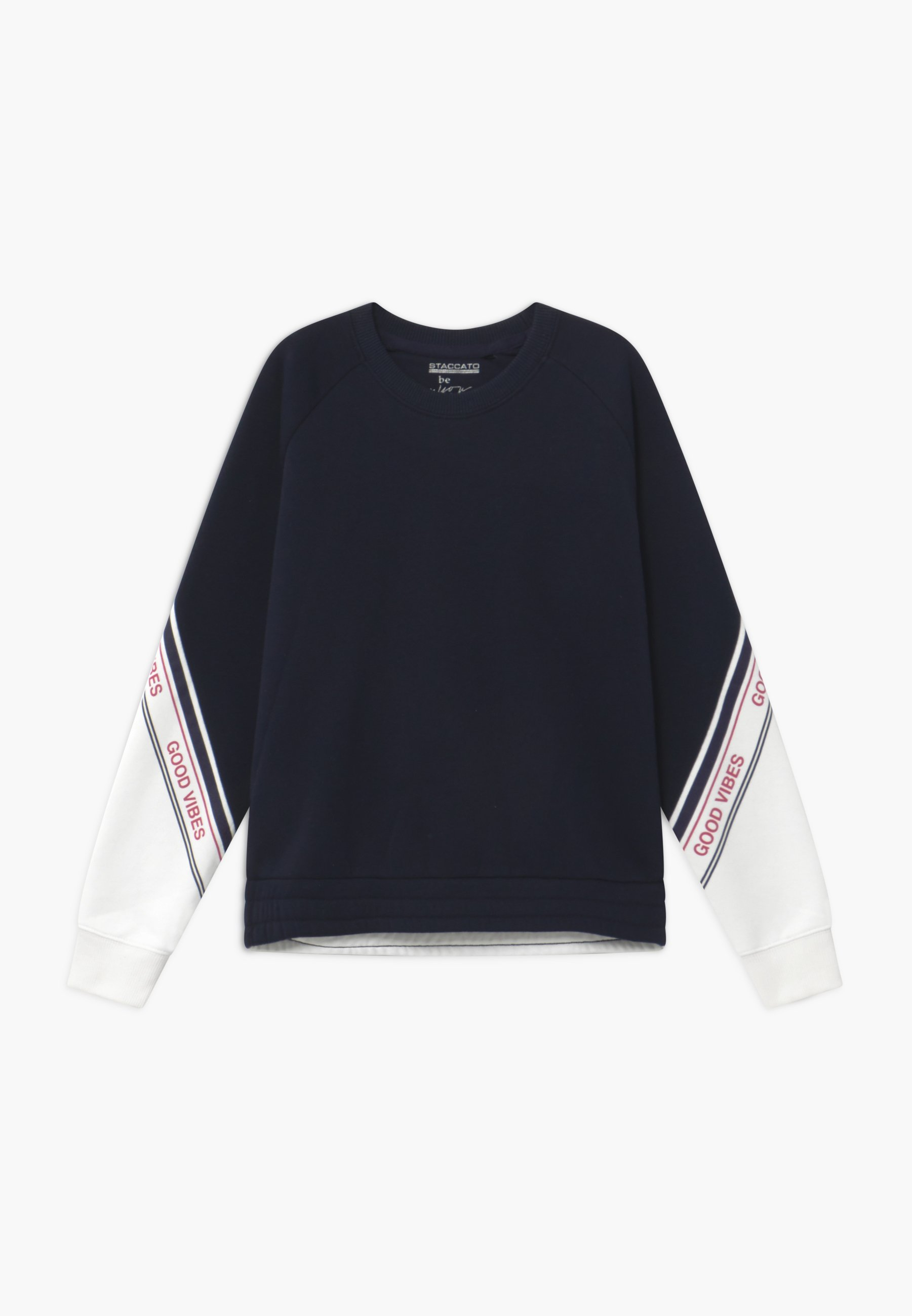 Offwhite Staccato Langarmshirt GOOD VIBES