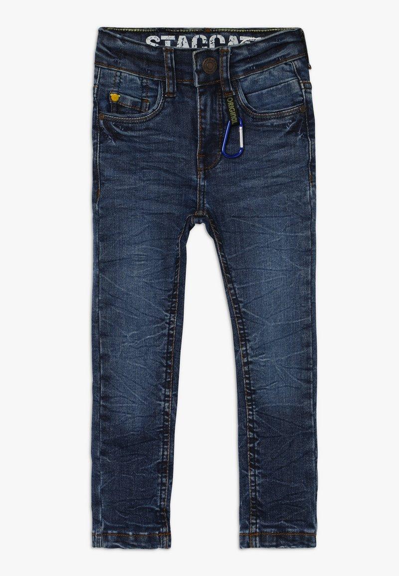 Staccato - KARABINER KID - Jeans Skinny Fit - blue denim