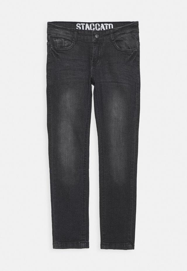SKINNY TEENAGER - Jeans Skinny Fit - black denim