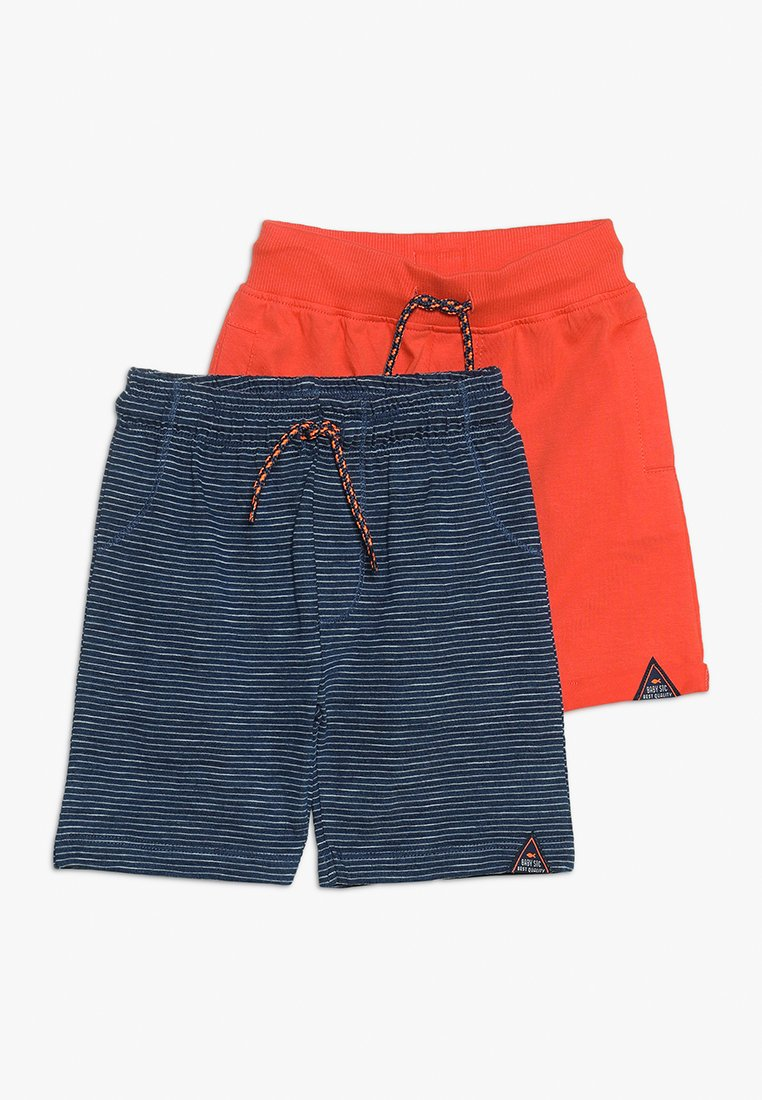 Staccato - BERMUDAS 2 PACK - Shorts - indigo structure/sunset red