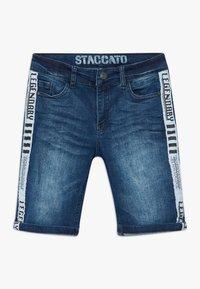 Staccato - BERMUDAS TEENAGER - Džínové kraťasy - blue denim - 0
