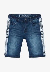 Staccato - BERMUDAS TEENAGER - Džínové kraťasy - blue denim - 3