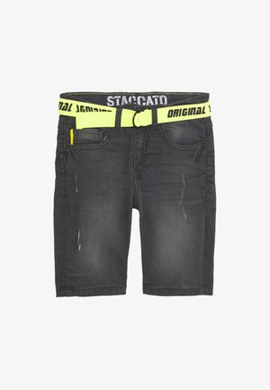 BERMUDAS GÜRTEL KID - Short en jean - grey denim