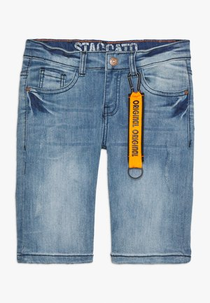 BERMUDAS DESTROYED TEENAGER - Szorty jeansowe - light blue denim