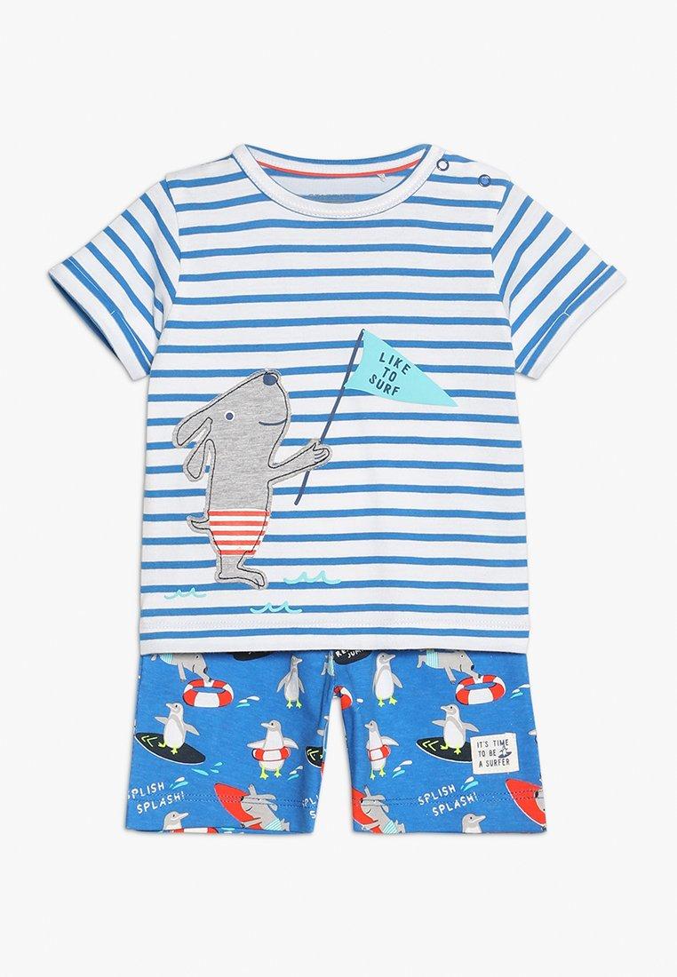 Staccato - SHIRT + BERMUDAS SET - Shorts - blue