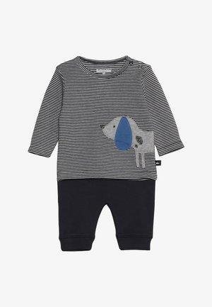 BABY SET - Tygbyxor - dark blue