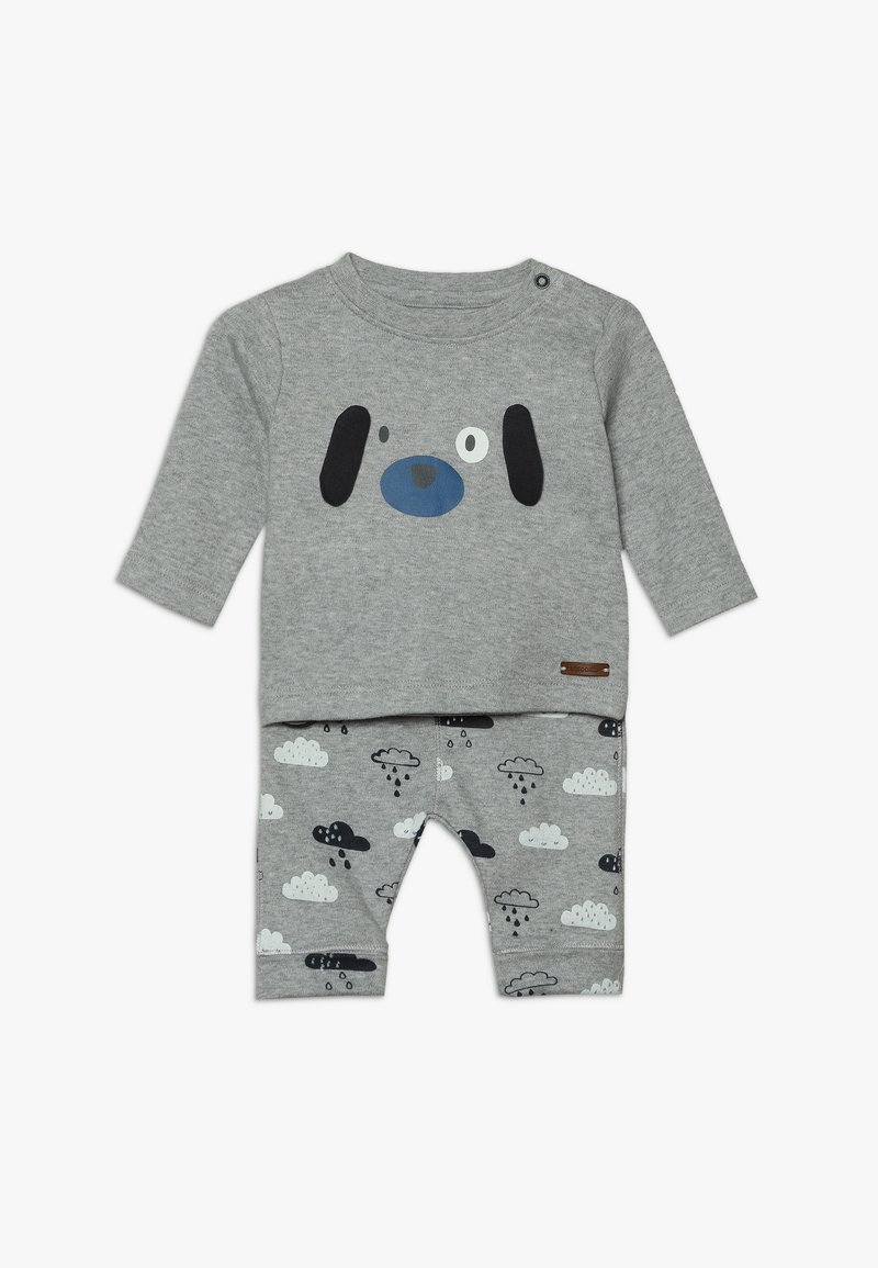 Staccato - BABY SET - Trousers - mottled grey