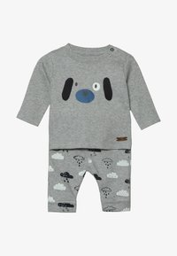 Staccato - BABY SET - Trousers - mottled grey - 4