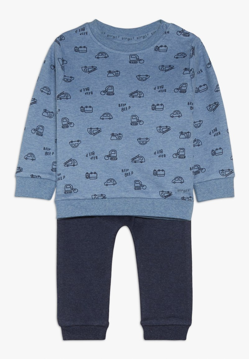 Staccato - BABY SET - Trousers - blue